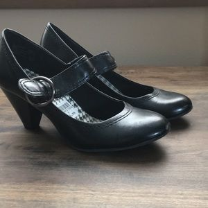 Shoes - Black Mary Jane style shoes